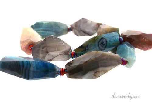 Vuuragaat kralen free shape ca. 18 tot 33mm
