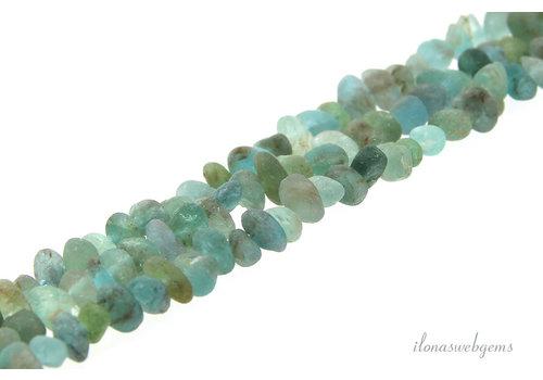 Apatite beads mat approx. 6x4mm