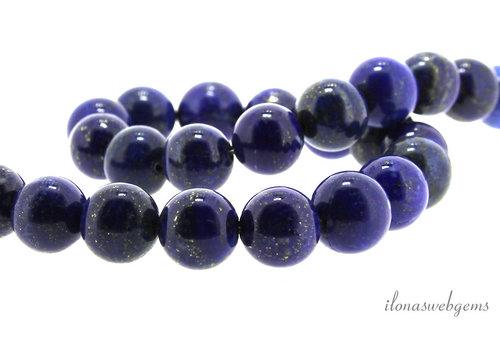 Lapis lazuli beads around 12mm