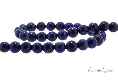 Lapis lazuli kralen rond ca. 6.5mm
