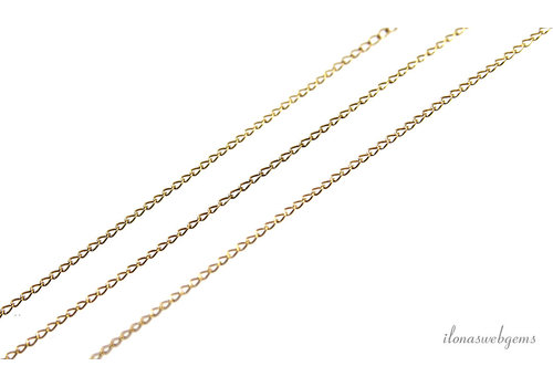 Gold filled schakels / ketting 2