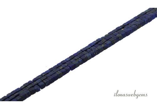 Lapis lazuli kralen mini kubus ca. 2x2x2mm