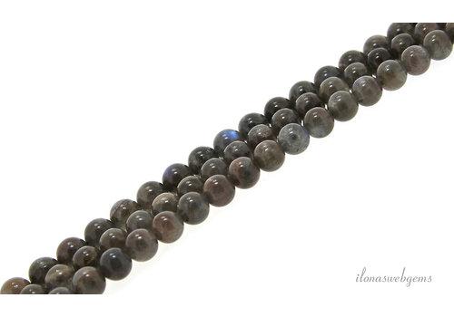 Labradorite beads around 8.5mm