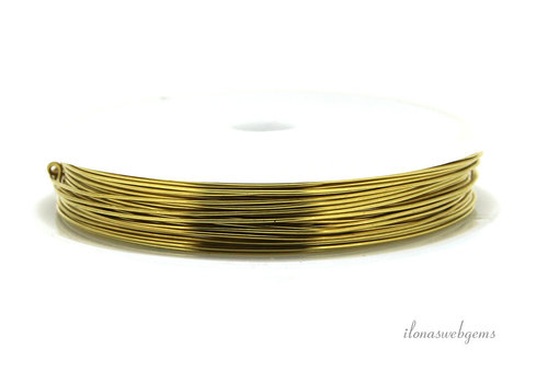 Wire draad messing ca. 0.40mm