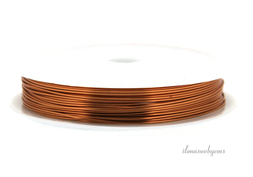 Wire draad koper ca. 0.40mm