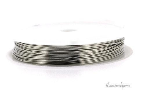 Wire draad zilver ca. 0.40mm