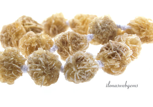 Desert rose beads about 17mm