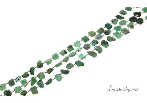 Smaragd kralen side drill