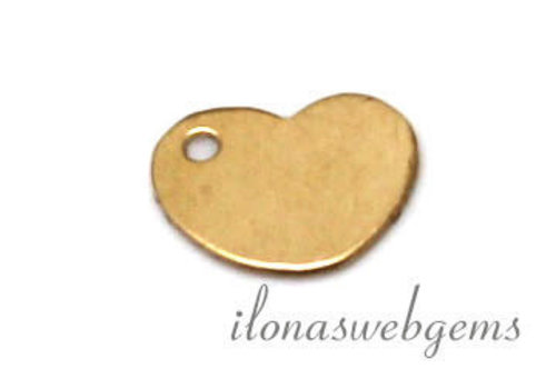 14k / 20 Gold filled label approx 8.5x6.5mm