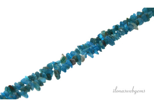 Apatite beads split fine about 3-5mm