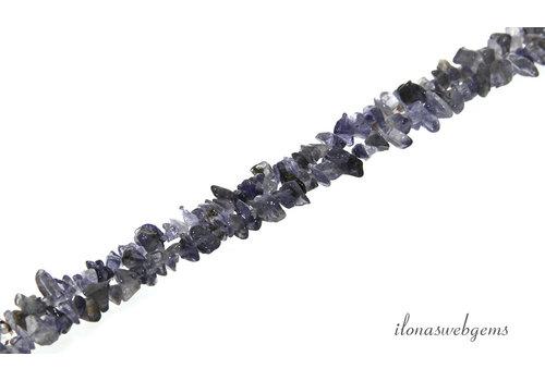 iolite beads split fine about 3-5mm
