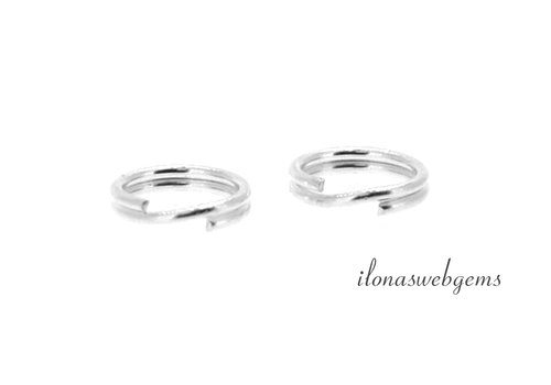 1 piece sterling silver split ring