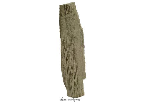 Petrified wooden plinth