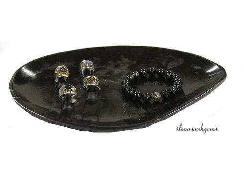 Petrified wood bowl / plate