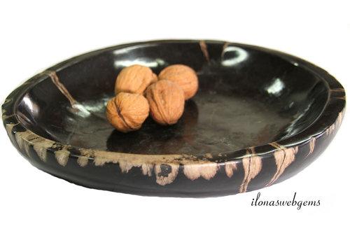 Petrified wooden bowl