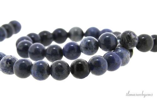 Dumortierite beads around 8.5mm