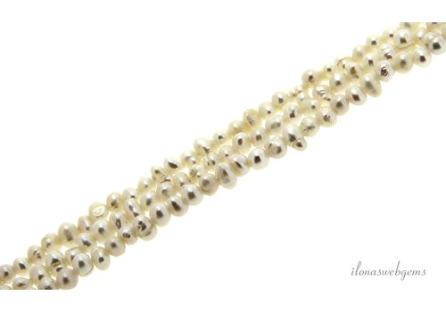 Mini Freshwater pearls about 3x2mm