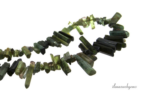 Tourmaline sticks approx. 6-12x3x2mm