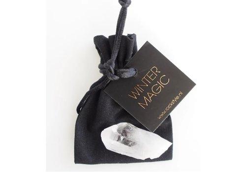 Rockstyle Giftbag  'Winter magic' Bergkristal van € 8,50 voor € 7,00