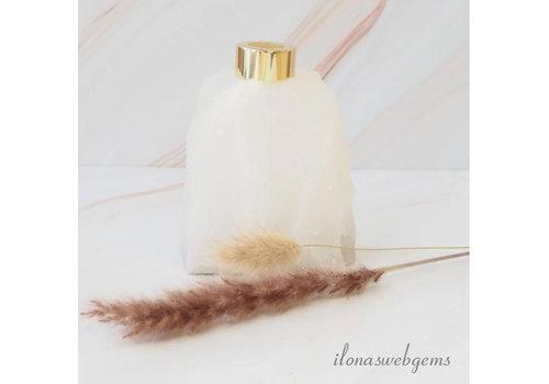 "Rockstyle Gemstone diffuser for fragrance sticks Rock crystal ""Gold"""