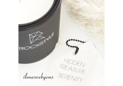 Rockstyle Hidden Treasure Candle black - SERENITY - Calciet