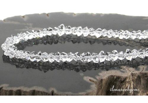 Herkimer Diamant kralen AA kwaliteit ca. 6x3mm