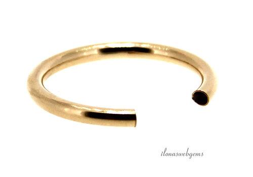 14k/20 Gold filled ring scheen ca. 2.5mm