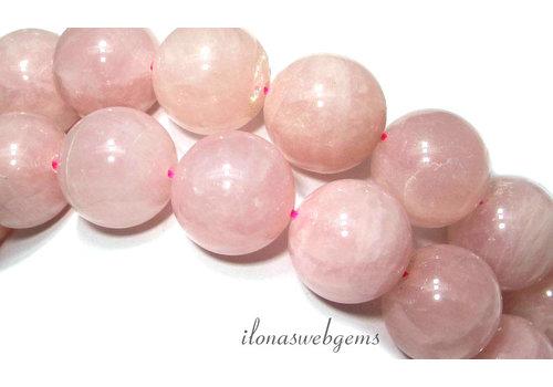 Rose quartz beads around 20mm