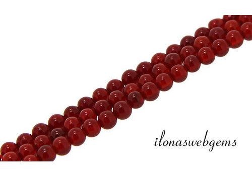 Cornaline / Carnelian beads around mini about 2mm