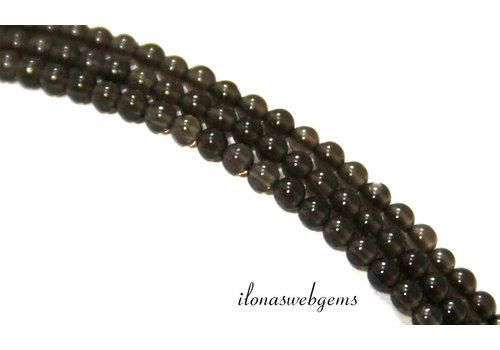 Smoky quartz beads mini about 3mm
