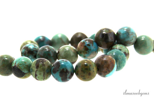 Turquoise beads around 8.5mm