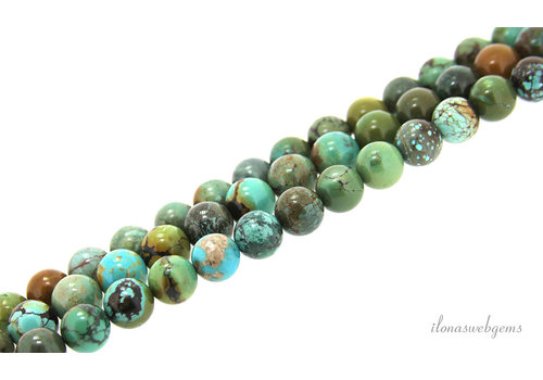 Turquoise beads about 11.5mm AA quality