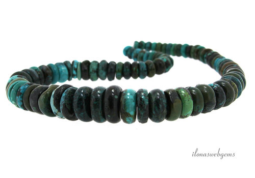 Turquoise beaded choker approx. 6-17mm (3)