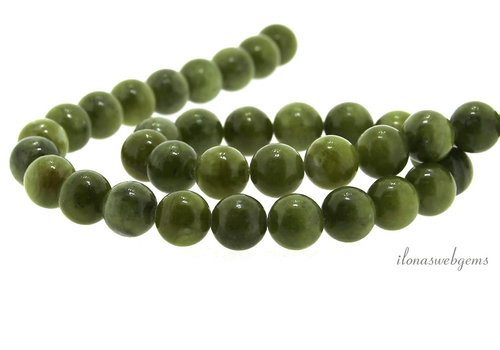 Jade kralen rond ca. 12mm