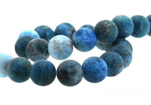Apatite beads mat around 12mm