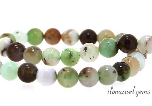 Australian Jade beads around 8mm