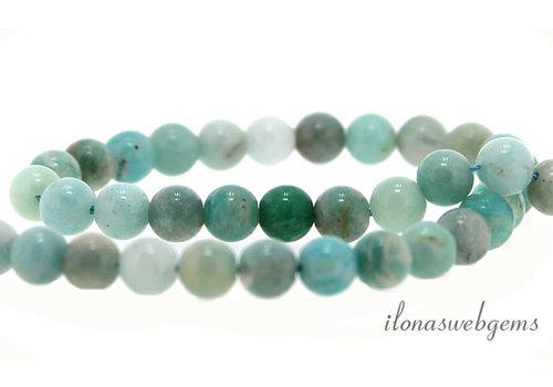Amazonite beads around 6mm