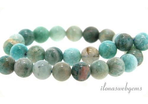 Amazonite beads around 8mm