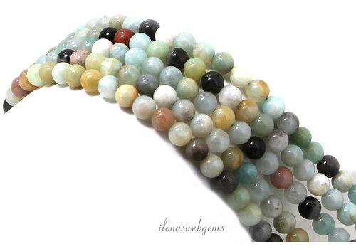 Amazonite beads around 4mm