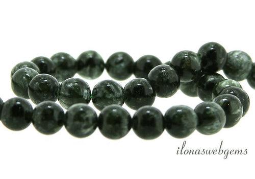 Seraphinite beads around 5.5mm