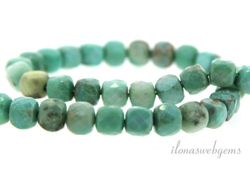 Russian Amazonite facet approx. 7mm