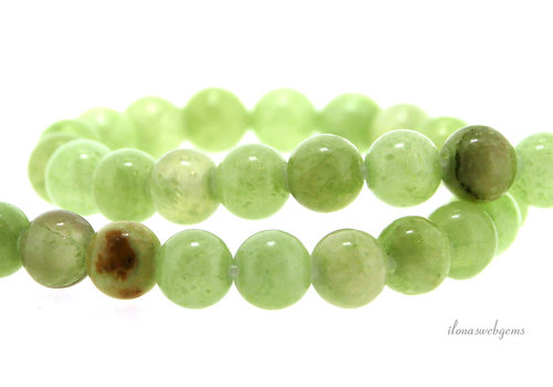 Calcite beads round about 8mm