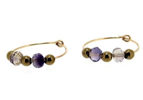 Inspiration: fluorite earrings