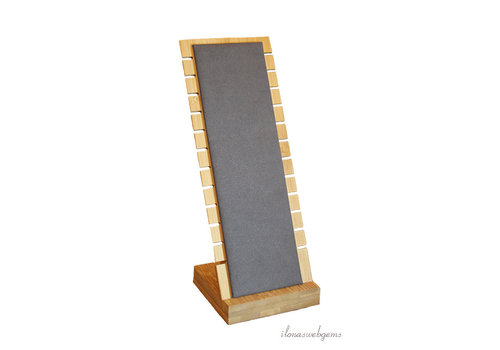 Bamboe sieraad display voor kettingen klein
