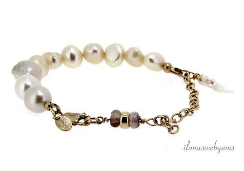Inspiration bracelet: Freshwater pearls
