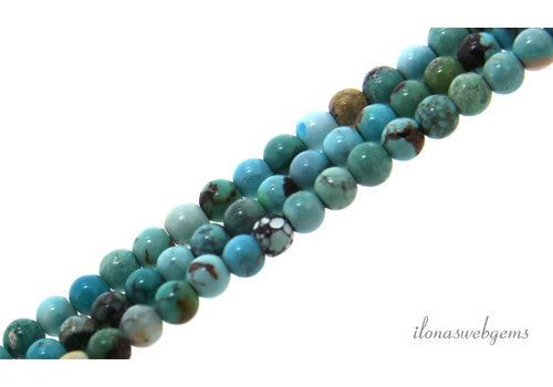 Turquoise beads round about 3mm