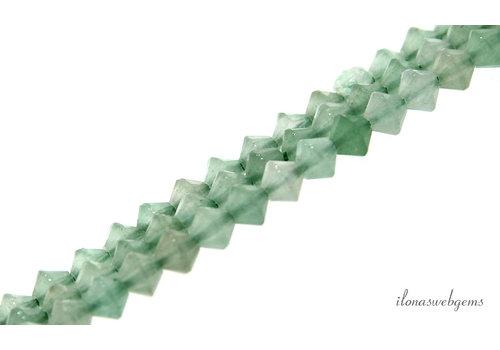 Aventurine beads bicone about 5x4mm