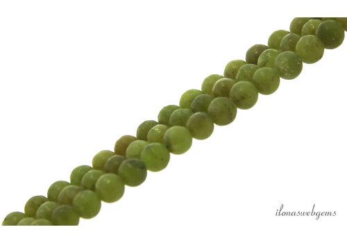 Jade kralen rond