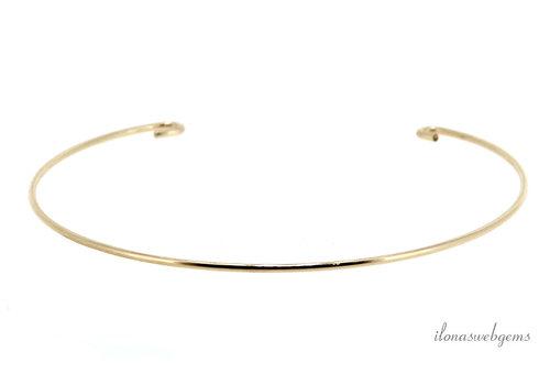 14k/20 Gold filled armband  ca. 17.5cm