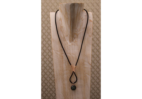 Inspiration: Necklace with leather